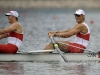 BEIJING, CHINA: AUGUST 13, 2008 -- Scott Frandsen (left) and David Calder (right) of Canada row their way to a first place finish in the Men's Pair Rowing Competition at the Olympic Games in Beijing August 13, 2008. (Photo by Larry Wong/Canwest News Service) CNS OLYMPICS