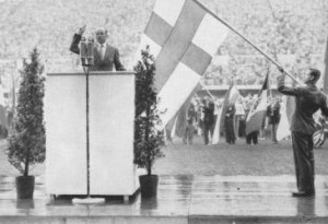 Opening of the 1952 Olympic Games